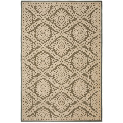 Hand-Loomed Dill Area Rug Rug Size: Rectangle 53 x 76