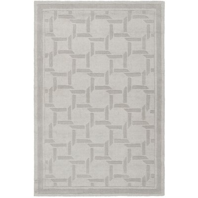 Resort Hand-Loomed Driftwood / Grey Area Rug Rug Size: Rectangle 4 x 6