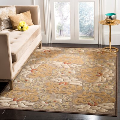 Martha Stewart Dahlia Tufted / Hand Loomed Area Rug Rug Size: Rectangle 5'3