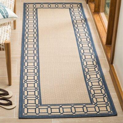Martha Stewart Azurite Blue Area Rug Rug Size: Rectangle 27 x 5