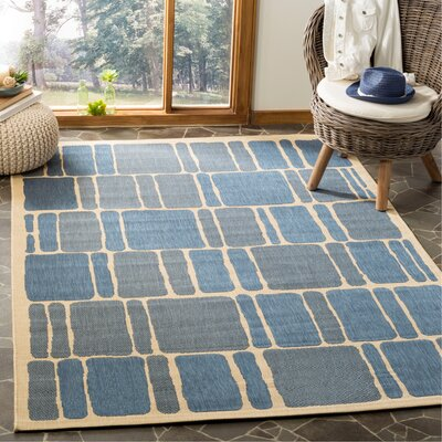 Martha Stewart Blocks Multi Area Rug Rug Size: Rectangle 53 x 77