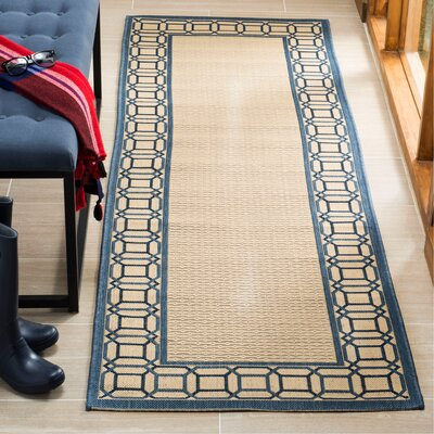 Martha Stewart Azurite Blue Area Rug Rug Size: Runner 27 x 8