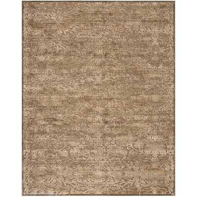 Soft Anthracite/Camel Area Rug Rug Size: Rectangle 8 x 112