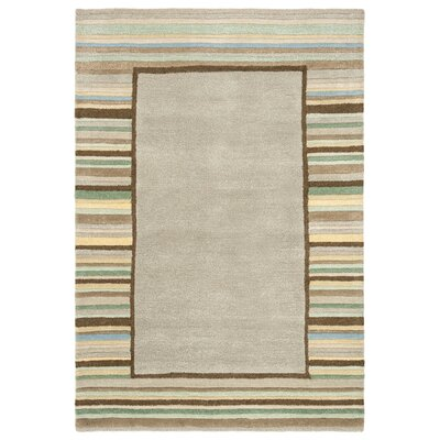 Hand-Woven Tadpole Green Area Rug Rug Size: Rectangle 4 x 6