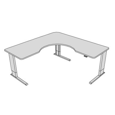 L Shape Corner Desk Product Photo