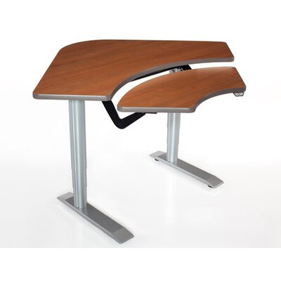 59'' W Vox Height Adjustable Training Table Tabletop Finish: Living Teak