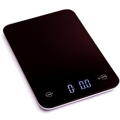 Ozeri Touch Professional Digital Kitchen Scale (12 lbs Edition), Tempered Glass ZK13