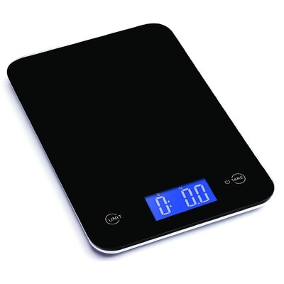 Ozeri Touch Professional Digital Kitchen Scale (18 lbs Edition), Tempered Glass ZK13-8