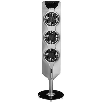 "44"" Tower Fan with Passive Noise Reduction Technology Finish: Silver OZF3-S"