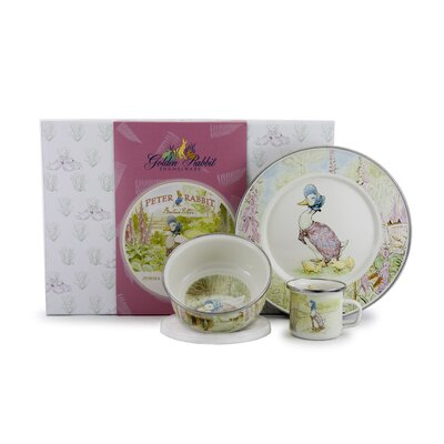 Jemima Puddleduck Children's 3 Piece Place Setting JD99