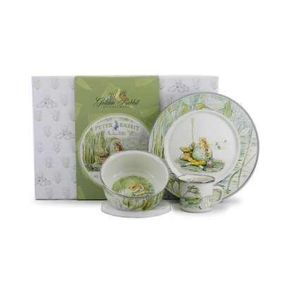 Jeremy Fisher Children's 3 Piece Place Setting JF99