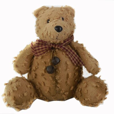 Shabby Elegance Chenille Teddy Bear Collectible Figurine