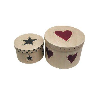 2 Piece Nesting Star Box Set