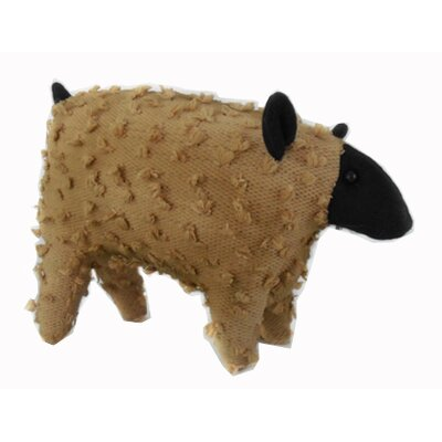 Shabby Elegance Fabric Chenille Country Sheep