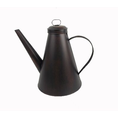 Old World Decorative Tea Kettle Finish: Antique and Elegant Bronze
