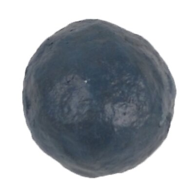 Papier Mache Traditional Sphere Sculpture Color: Antique Blue