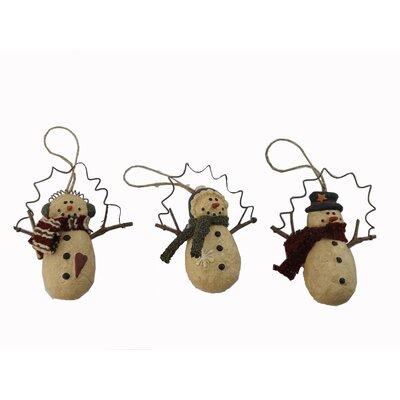 Snowman Twig Arm Ornament