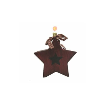 Star Box Sculpture With Plug-in Light