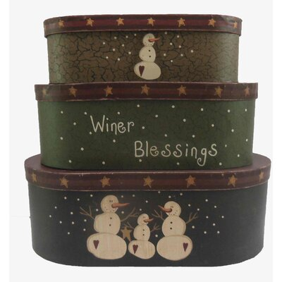 3 Piece Oblong Nesting Box Set 31299