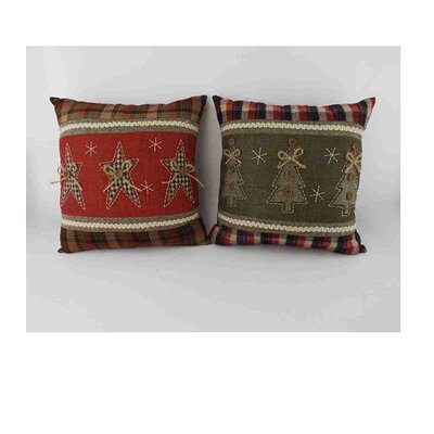2 Piece Christmas Throw Pillow Set