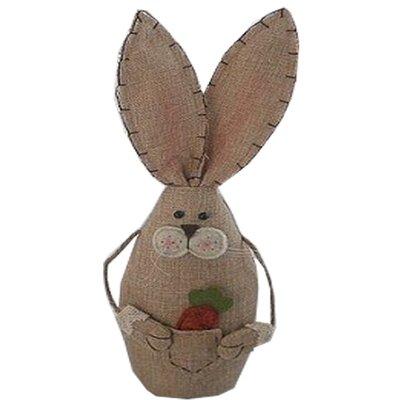 Standing Burlap Bunny