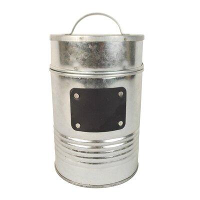 Tin Bucket with Chalkboard T1376