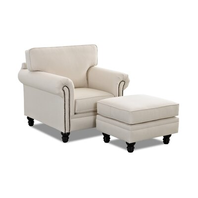 Vivian Armchair and Ottoman