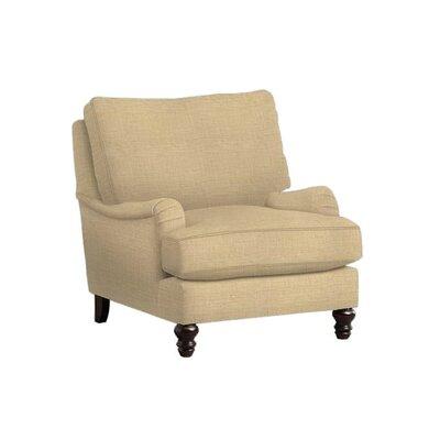 Delphine Arm Chair Upholstery: Trillion Saffron