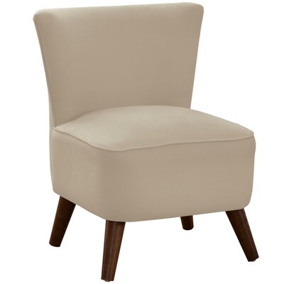 Crown Slipper Chair Upholstery: Klein Oyster