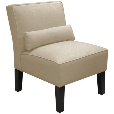 Thurston Slipper Chair Upholstery: Velvet Light Grey
