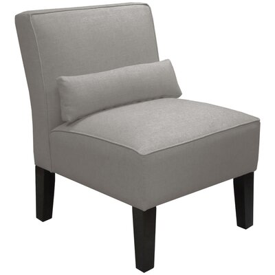 Thurston Slipper Chair Upholstery: Duck Grey