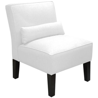 Thurston Slipper Chair Upholstery: Duck White