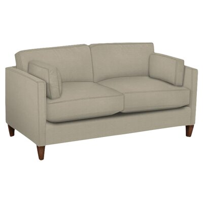 Caroline Loveseat Body Fabric: Hilo Seagull, Pillow Fabric: Hilo Seagull