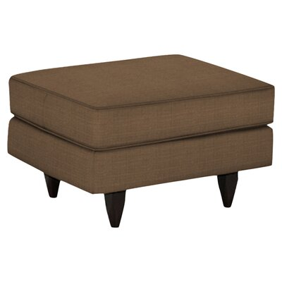 Harper Ottoman Body Fabric: Hilo Rattan, Leg Finish: Wooden