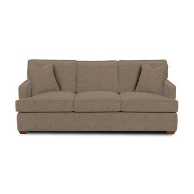Avery Sleeper Sofa Body Fabric: Lizzy Hemp, Pillow Fabric: Lizzy Hemp