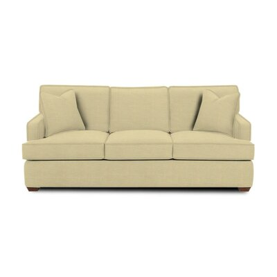 Avery Sleeper Sofa Body Fabric: Lizzy Linen, Pillow Fabric: Lizzy Linen