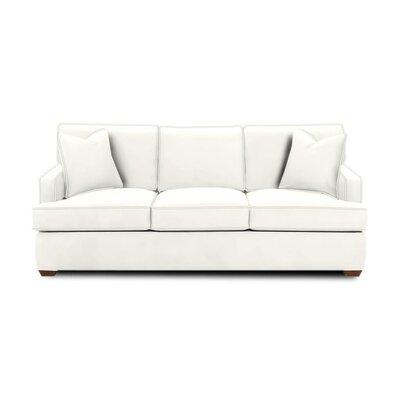 Avery Sleeper Sofa Body Fabric: Classic Bleach White, Pillow Fabric: Classic Bleach White