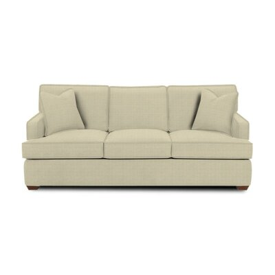 Avery Sleeper Sofa Body Fabric: Hilo Flax, Pillow Fabric: Hilo Flax