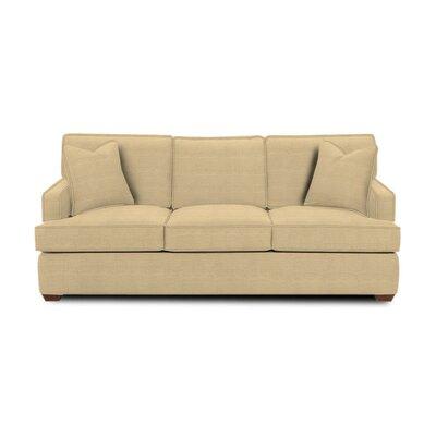 Avery Sleeper Sofa Body Fabric: Trillion Saffron, Pillow Fabric: Trillion Saffron