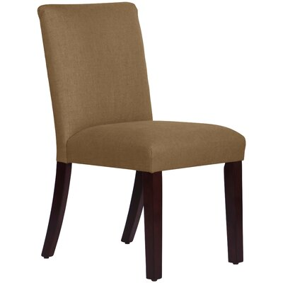 Connery Parsons Chair Body Fabric: Linen Taupe
