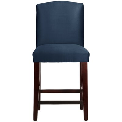 Nadia 26 Bar Stool Body Fabric: Premier Navy