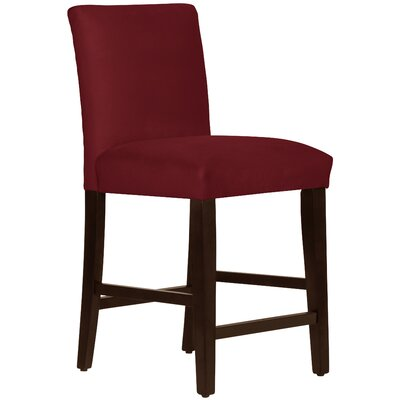 Connery 26 Bar Stool Body Fabric: Velvet Berry
