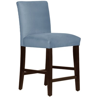 Connery 26 Bar Stool Body Fabric: Velvet Ocean