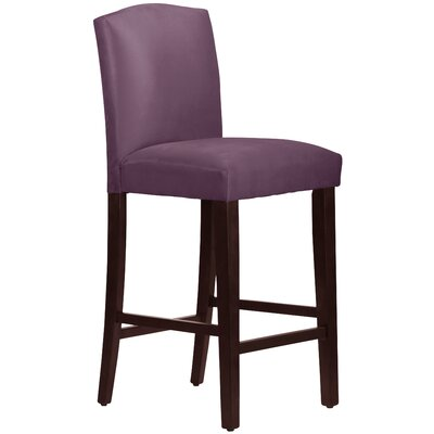 Nadia 31 Bar Stool Body Fabric: Premier Purple