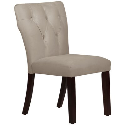 Evelina Side Chair Upholstery: Premier Platinum