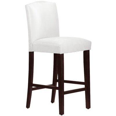 Nadia 31 Bar Stool Body Fabric: Premier White