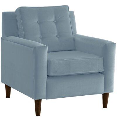 Elena Arm Chair Upholstery: Velvet Ocean
