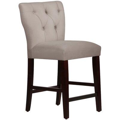 Evelina 26 Bar Stool Upholstery: Premier Platinum
