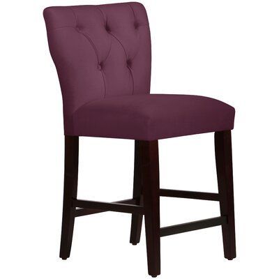 Evelina 26 Bar Stool Upholstery: Premier Purple