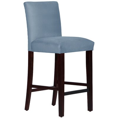 Connery 31 Bar Stool Body Fabric: Velvet Ocean